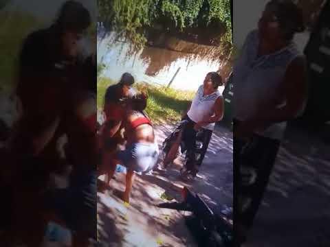 Pelea entre familias vecinas en zona de la Toma