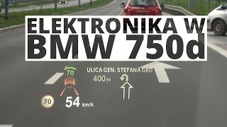 BMW 750d - dzia�anie elektroniki