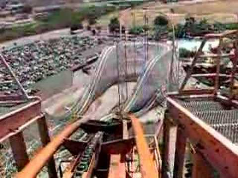 Goliath, Roller Coaster Six Flags Magic Mountain. -mPAcRAsG-gE