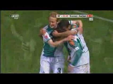 Werder 3-1 Aachen (Diego!) What a goal!!!