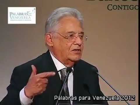 Fernando Henrique Cardoso - Palabras para Venezuela