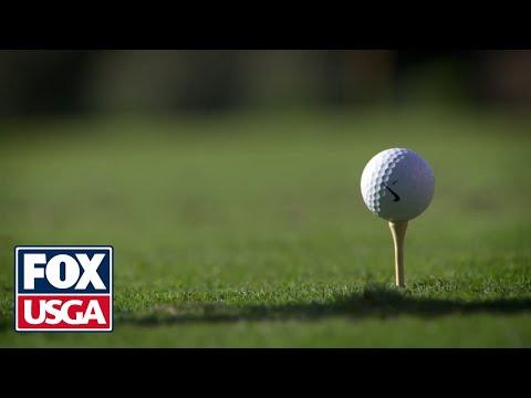 فيديو..شاهد طفل بالثالثة يبدع في لعب الغولف بيد واحدة