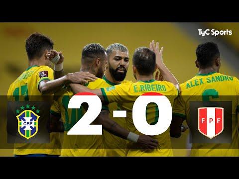 Brasil derrotó a Perú y estiró su invicto en Eliminatorias