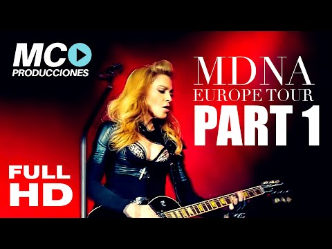 Madonna intro   Girl Gone Wild (NEW VERSION) MDNA Tour EUROPE Bluray