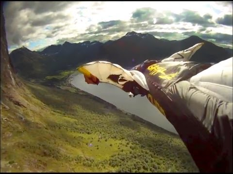 GoPro HD HERO camera: Base Jump Movie