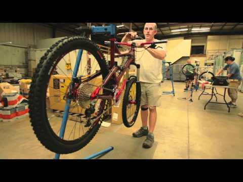 Building Mountain Bikes For The Boy Scouts' Summit Shakedown