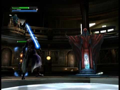 Star Wars The Force Unleashed: Jedi temple level part 2/3