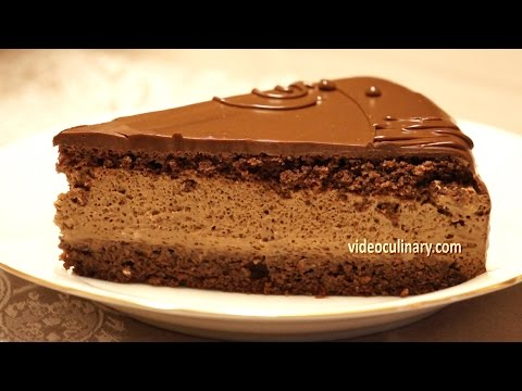 Chocolate Mousse Cake Recipe - Daniella Torte