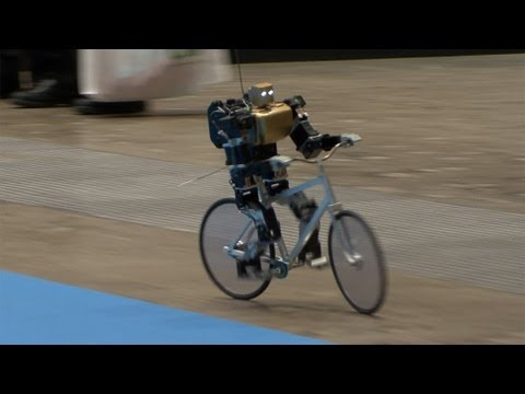 Bipedal Cycling Robot Can Balance, Steer and Correct Itself #DigInfo