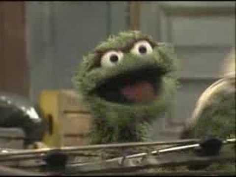 Sesame Street - I Love Trash!
