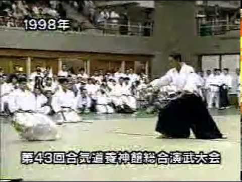 Excellent Yoshinkan Aikido Demonstration Sensei Takeno