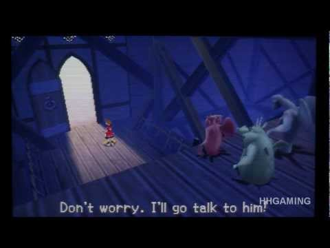 Kingdom Hearts 3D - walkthrough part 7 HD English KH3D Dream Drop Distance KH3 3DS