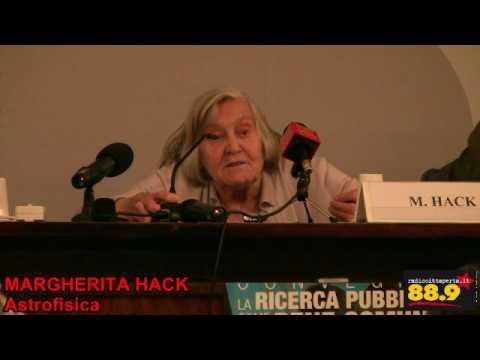 RICERCA PUBBLICA BENE COMUNE: parla Margherita Hack 2/3.