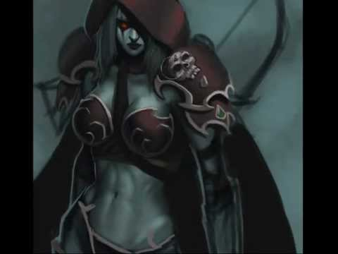 Sylvanas Windrunner - Speed painting by KostanRyuk