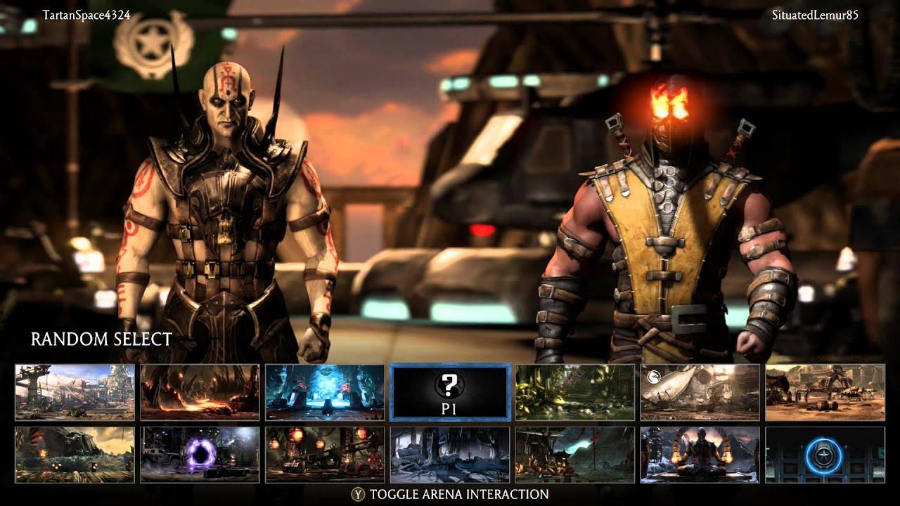 Mortal Kombat X Gameplay & First Look