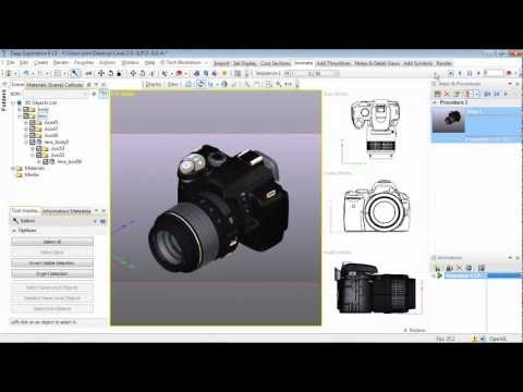 Corel DESIGNER Technical Suite X5 TUTORIAL: Working with 3D files