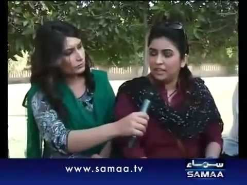 Maya Khan raids on date in Karachi Parks.flv