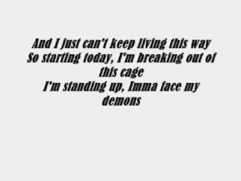 Not Afraid - Eminem With Lyrics