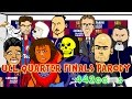 Bayern Munich vs FC Porto 6-1 & Barcelona vs PSG 2-0 Champions League Cartoon Quarter Final Parody