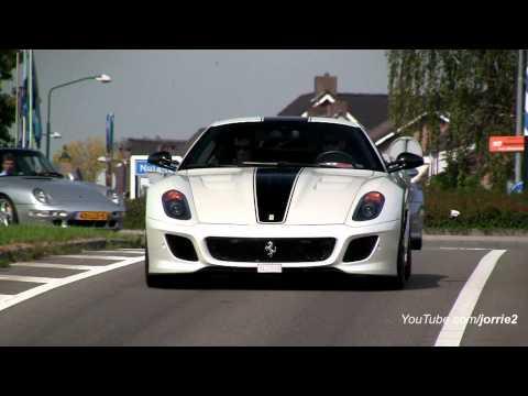 Ferrari 599 GTO + Porsche Carrera GT Accelerating!! - 1080p HD