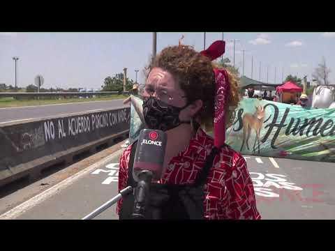 Ambientalistas cortan puente Victoria- Rosario: