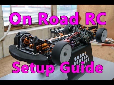 Hobby King Rz4 First Run Touring Car Setup