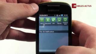 Vidéo : Test Galaxy Mini