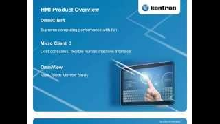 Human Machine Interface Webtalk Part 1 with Norbert Hauser from SPS IPC Drives 2013