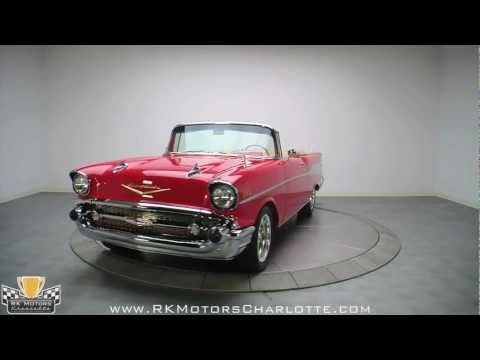 132380/1957 Chevy Bel Air Convertible