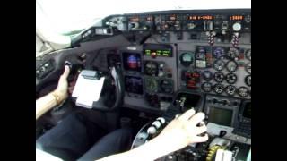 Landing at Aeroparque Jorge Newbery Buenos Aires Argentina
