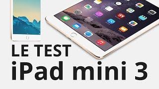 Vidéo : Test Apple iPad mini 3