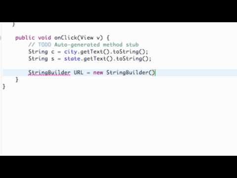 Android Application Development Tutorial - 155 - StringBuilder and XML Parsing Framework