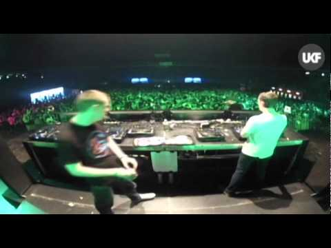 UKF vs RAMPAGE @ Lotto Arena Antwerp: Original Sin b2b Taxman & MC Carasel