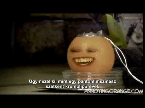 Annoying Orange - Saw (Magyar felirattal)