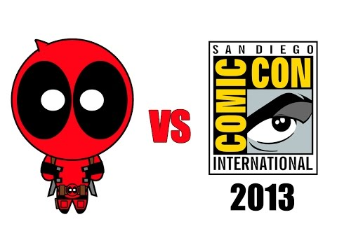 Deadpool vs Comic-Con 2013