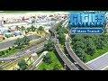 Cities Skylines Mass Transit - Невероятная железнодорожная развязка! #42