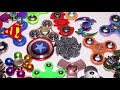 Фрагмент с начала видео - 50+ Fidget Spinners Gadget Toys