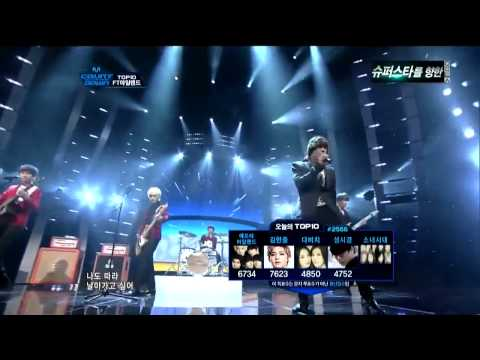 111027 FT Island - Like the Birds live @M!Countdown