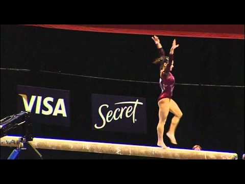 Alicia Sacramone (Brestyans) - 2010 US Nationals - Beam (Day 2)