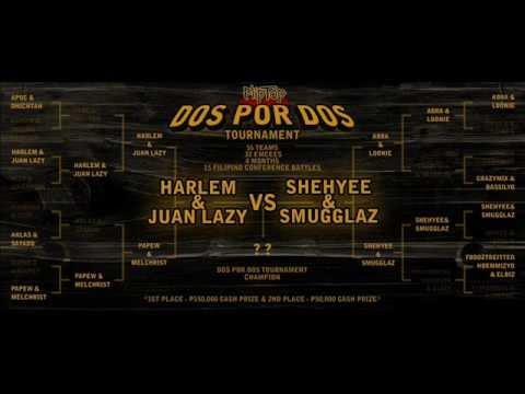 """FlipTop - Shehyee/Smugglaz vs Juan Lazy/Harlem @ Dos Por Dos Tournament """"DILANG MALUPET"""" 2012"""