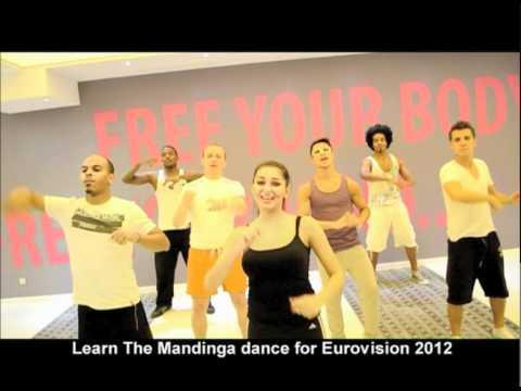 The Mandinga Dance for Eurovision 2012