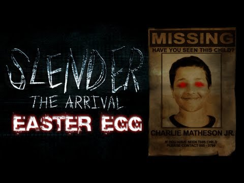 Slender: The Arrival Easter Egg | SUPER SECRET LEVEL