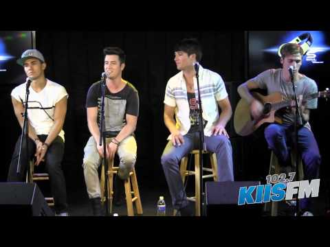 "102.7 KIIS-FM: Big Time Rush ""Windows Down"" Live Acoustic"