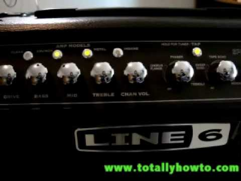Totally How To Product Review of: Line 6 Spider IV 15