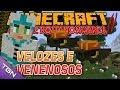 Minecraft Parque dos Dinossauros II :: Ep 15 :: VELOZES E VENENOSOS