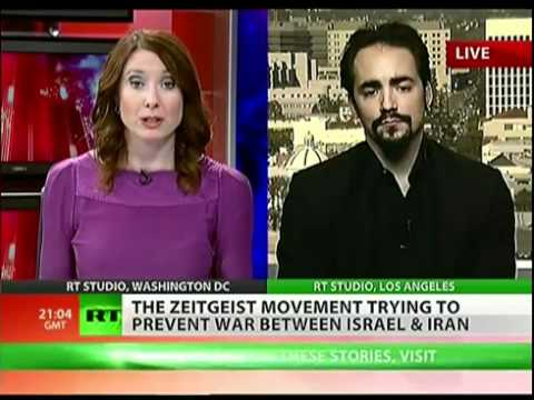 The Zeitgeist Movement - Peter Joseph on RT, Feb 10th, 2012 : War and The State
