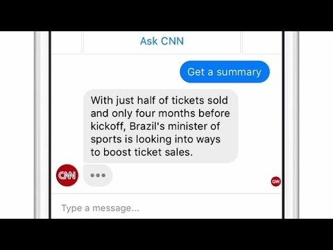 Hello bots, goodbye apps? Facebook cooks up chatbots, video drones, social VR (CNET Update) - UCOmcA3f_RrH6b9NmcNa4tdg