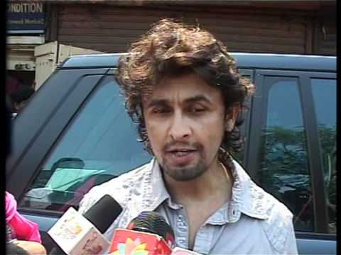 Sonu Nigam And Shaan At Jagjit Singhs Funeral - Latest Bollywood Events