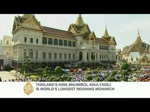 Ailing Thai king calls for unity