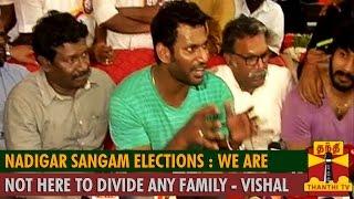 Watch Nadigar Sangam Elections :